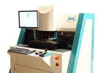 Customized microscope for laser mark measurement on wafer
